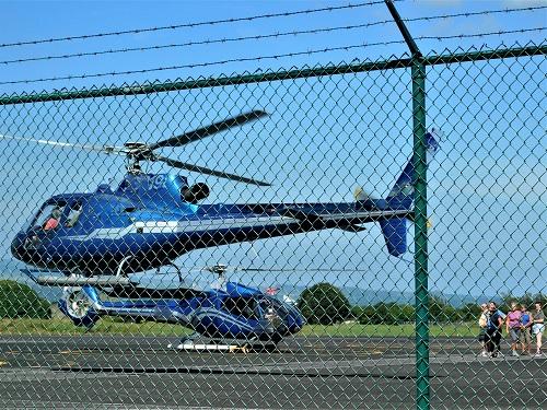 hélicoptère à La Réunion